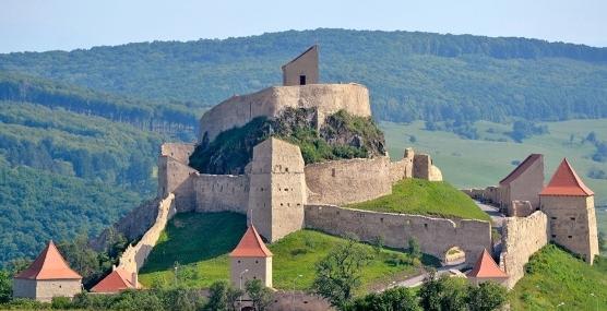 Cetatea Rupea astazi