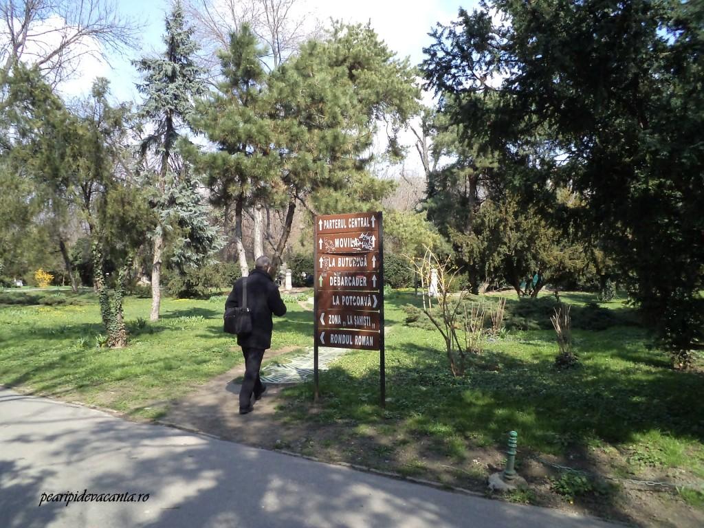 Intrarea dinspre Schitu Magureanu