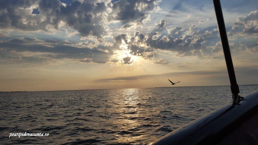 Apus de Soare pe Dunare