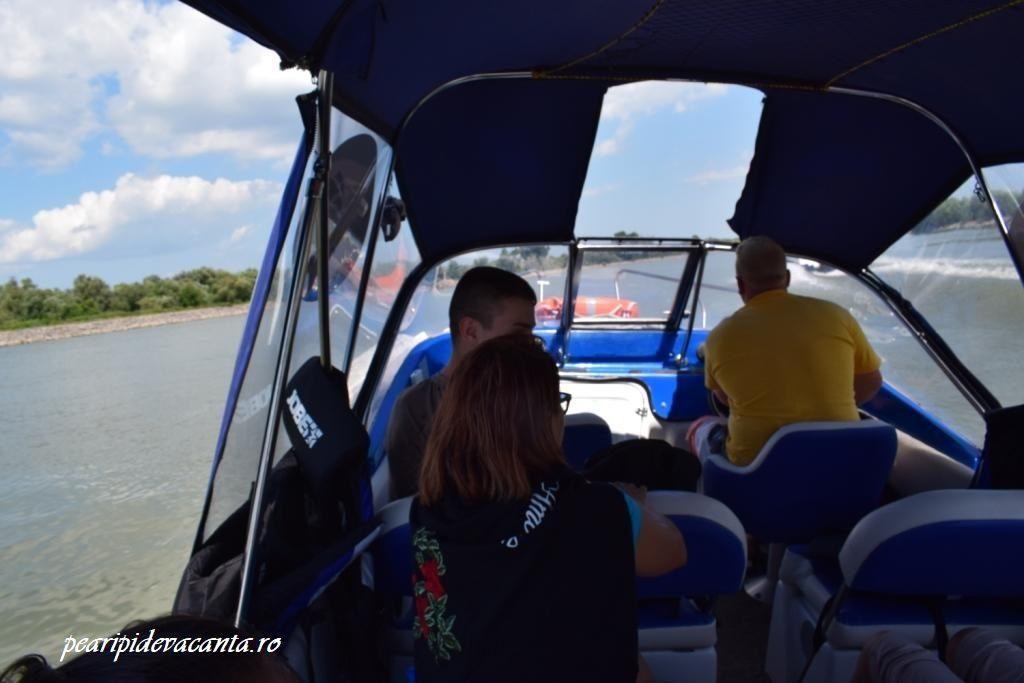 Mijloace de transport Tulcea-Sulina